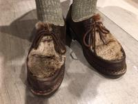 靴下のこだわり - シューケアマイスター靴磨き工房 銀座三越店