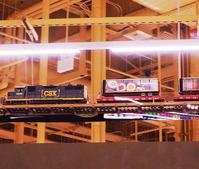 ウェグマンズ店内を走る鉄道模型のGゲージ・トレイン - ニューヨークの遊び方