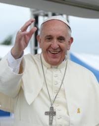 本日、教皇フランシスコが来日 - ようこそ、町田カルバリー 家の教会のブログへ!