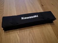 Kawasaki オリタタミクッション! - Green&Black