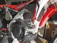 F田サン号 CRF450Lのマフラー交換・・・ヽ(^。^)ノ - バイクパーツ買取・販売&バイクバッテリーのフロントロウ!