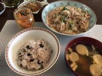 ランチに黒豆ご飯( ◠‿◠ ) - 桃的美しき日々 [在中国無錫]