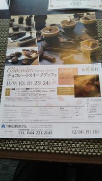 川崎日航ホテル夜間飛行チョコレートスイーツブッフェ - C&B ~ケーキバイキング&ベーグルな日々~