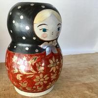 金銀彩マトリョーシカ - 元窯・花*花ブログ