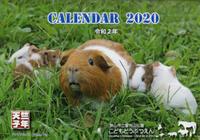 2020子年カレンダー。~智光山公園こども動物園~ - 馬耳Tong Poo