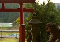 弥彦の大鳥居と新津キハ(急行) - 鉄ちゃん再開しました