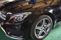 ベンツW205 C180 タイヤ・ホイール交換 - THREE POINT GARAGE NEWS メルセデスベンツ専門店 カスタム&メンテナンス