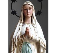 ルルドの聖母マリア像 41.5 cm /G770 - Glicinia 古道具店