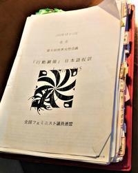 「北京行動綱領」を墓場から陽の当たる所に出さなくては - FEM-NEWS