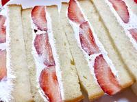 苺サンド!! - 日だまりカフェ