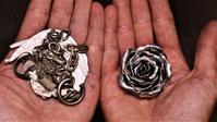 銀の薔薇の作り方 / MOHI silver works - アクセサリー職人 モリタカツヤ MOHI silver works  Jewelry Factory KUROBE