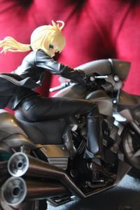 [Fate/Zero] Saber & Saber Motored Cuirassier review (GOOD SMILE COMPANY) セイバー モータード・キュイラッシェ グッスマ - 天地無用(小包届き過ぎ)