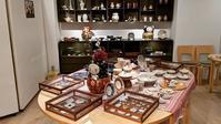 GINZA HAKKO木の香さんで展示会始まりました♫ - 元窯・花*花ブログ