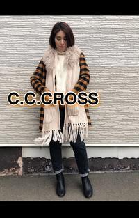 「C.C.CROSS シーシークロス」2WAYマフラー入荷です♪ - UNIQUE SECOND BLOG