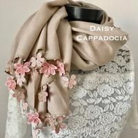 オヤ刺繍つきパシュミナ新作&再販 - カッパドキアのデイジー/オヤ刺繍店長日記