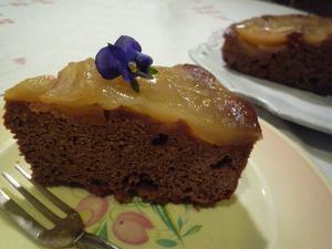 リンゴのケーキ - アンティーク 日々の暮らしを楽しむ