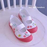 ◆デコパージュ*新入園のこどもたちへ♪かわいい上履き - フランス雑貨とデコパージュ&ギフトラッピング教室 『meli-melo鎌倉』