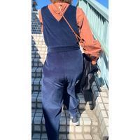 もう少しで完成♡コーデュロイのサロペット - 親子お揃いコーデ服omusubi-five(オムスビファイブ)