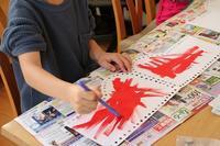 昨日の教室の様子 - 大阪府池田市 幼児造形教室「はるいろクレヨンのブログ」