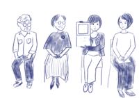 最終日、トークショー - たなかきょおこ-旅する絵描きの絵日記/Kyoko Tanaka Illustrated Diary
