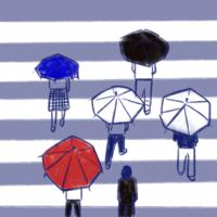 寒いし雨続き - たなかきょおこ-旅する絵描きの絵日記/Kyoko Tanaka Illustrated Diary