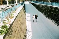 足元の雪対策 - 照片画廊