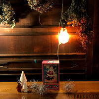 納屋cafe12月のディスプレイ!「すっかりクリスマス色」編 - ドライフラワーギャラリー⁂ふくことカフェ