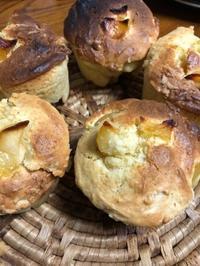 りんごとクリームチーズのマフィン - 道草日和。