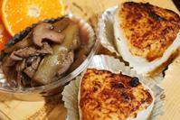 ■THE・朝ご飯【焼きおにぎりと芋茎の甘辛炒め煮レシピ】 - 「料理と趣味の部屋」