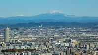 冠雪した山々 - 名駅観測所