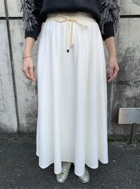 MARGAUX  フランネルギャザースカート - suifu