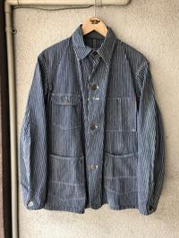 Montgomery Ward Multi Stripe Chore Jacket - TideMark(タイドマーク) Vintage&ImportClothing