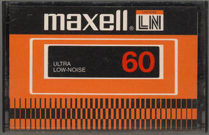 maxell LN (アメリカ向け製品) - カセットテープ収蔵品展示館