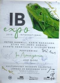 "IB EXPO 2019 23rd November, at Halmstad, Sweden - ""Ex-ex"" Peter Hammill 日本語 情報ブログ"