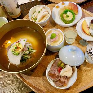 ひとりソウル旅 19 美しい冷麺セットの人気店 「ソグァンミョンオク」@教大 - ハレクラニな毎日Ⅱ