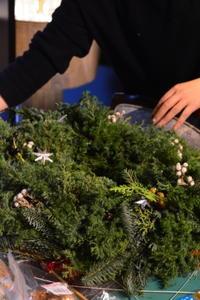 クリスマスアレンジメントレッスン - Fiore Spazio 花便り