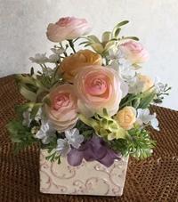 小さいアレンジ - グリママの花日記