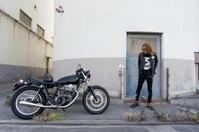 蓑 康友 & YAMAHA SR400(2019.05.12/KOBE) - 君はバイクに乗るだろう