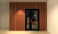 長野市 ネイルサロンシュシュ・ボーテ出店計画用イメージパース - 芦沢文一デザイン事務所