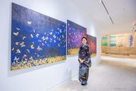 大竹寛子 Exhibition @ Waterfall Gallery New York 2019 - Triangle NY