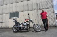 折戸 沙紀子 & Harley-Davidson FX1200(2019.08.25/MATSUZAKA) - 君はバイクに乗るだろう