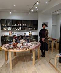 GINZA HAKKO木の香さんでの展示会終了しました。 - 元窯・花*花ブログ