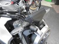 CB125Rにドラレコ - バイクの横輪