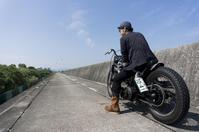 中村 真隆 & Harley-Davidson FXEF1200(2019.08.25/MATSUZAKA) - 君はバイクに乗るだろう