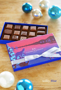 La Maison Du Chocolat メゾン・ドゥ・ショコラ ノエル 2019 - teddy blue
