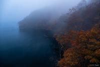 霧の徳山ダム1 - toshi の ならはまほろば