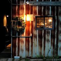 大きな看板リースの事!「自画自賛!カッコいい~!!とご満悦・・・だけど。」編 - ドライフラワーギャラリー⁂ふくことカフェ