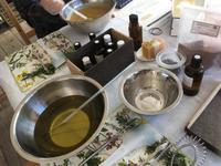 菊池 ポエトリーファニスタさん石鹸教室 -  お花とハーブのアトリエ muguette