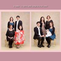 エリカちゃんのお宮参り - 中山写真館のブログです。