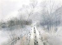 八島湿原雪景色 - ryuuの手習い